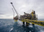 The Oseberg A offshore gas platform operated by Equinor stands in the Oseberg North Sea oil field 140kms from Bergen, Norway, on Friday, Jan. 17, 2014.  Photographer: Kristian Helgesen/Bloomberg