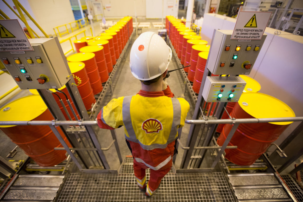Shell is predicting pre-tax impairments of up to £22bn due to Covid-19. Pic: Andrey Rudakov/Bloomberg