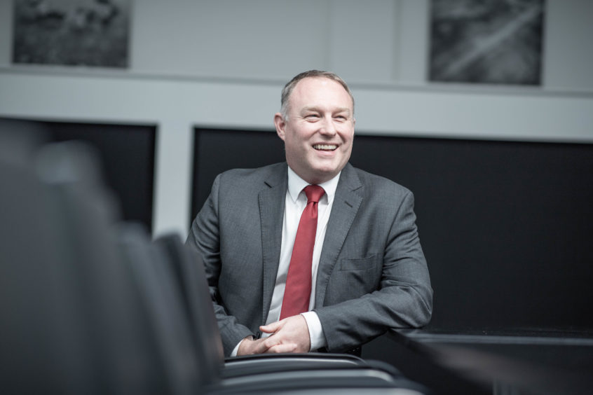 Pictured is Mark Cullens of OPITO