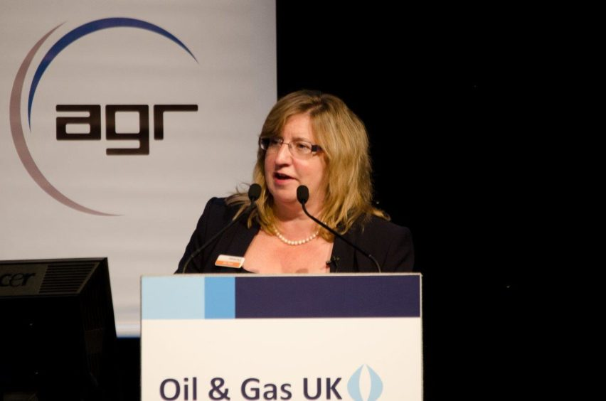 Alix Thom, Oil and Gas UK.