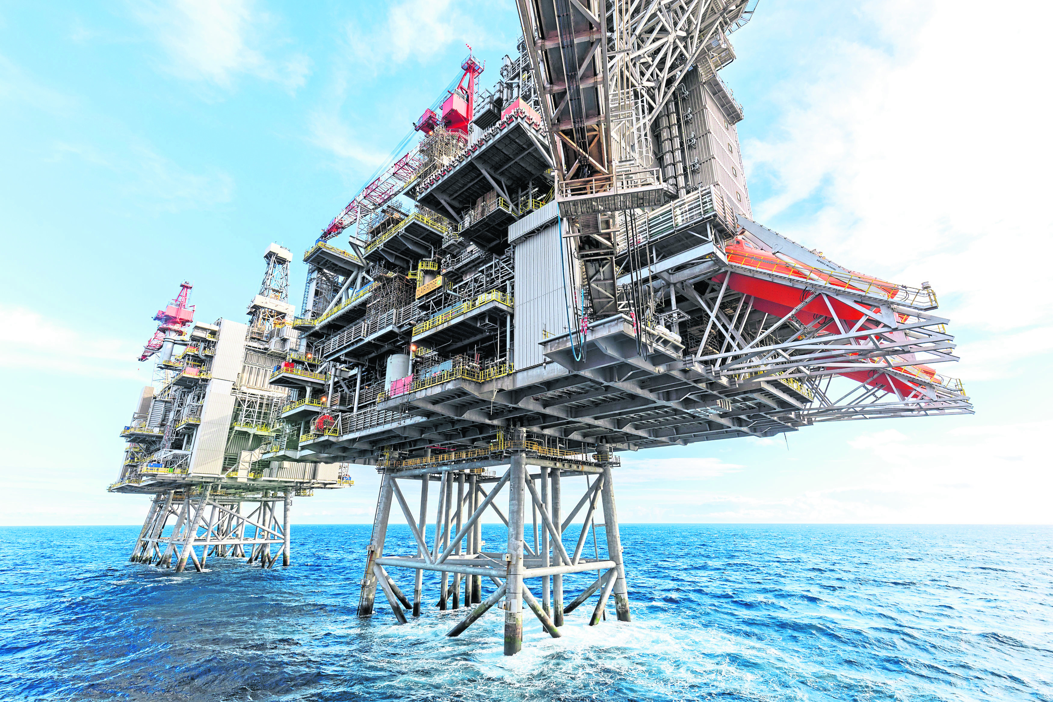 Undated handout photo issued by BP, of the energy giant's Clair Ridge development, west of Shetland, which has started producing oil using technology designed to maximise oil production offshore for the first time. PRESS ASSOCIATION Photo. Issue date: Friday November 23, 2018. The firm hopes to be able to get 640 million barrels of oil from the Clair Ridge, with production expected to peak at 120,00 barrels a day. See PA story INDUSTRY Oil. Photo credit should read: Stuart Conway/PA Wire NOTE TO EDITORS: This handout photo may only be used in for editorial reporting purposes for the contemporaneous illustration of events, things or the people in the image or facts mentioned in the caption. Reuse of the picture may require further permission from the copyright holder.