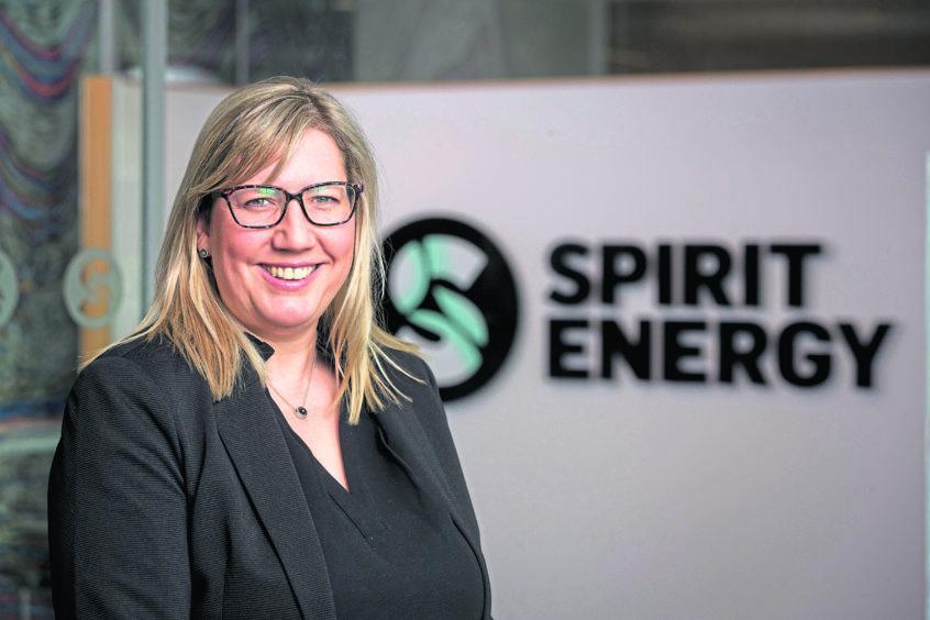 top job: Carla Riddell returned to Spirit Energy after maternity leave as senior vice-president for west of Shetland