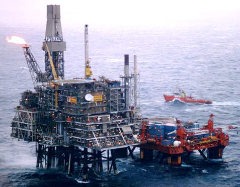 More than 80kg of gas was released from the Alba Northern platform