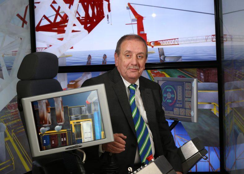 EnerMech's international director for Mechanical Handling Services, John Morrison