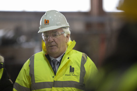 Sean Power, director of BiFab.