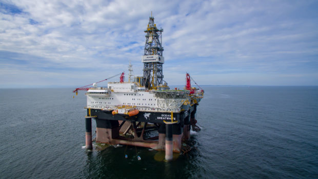 The Ocean GreatWhite has spudded an appraisal well at Cnooc's Cragganmore discovery
