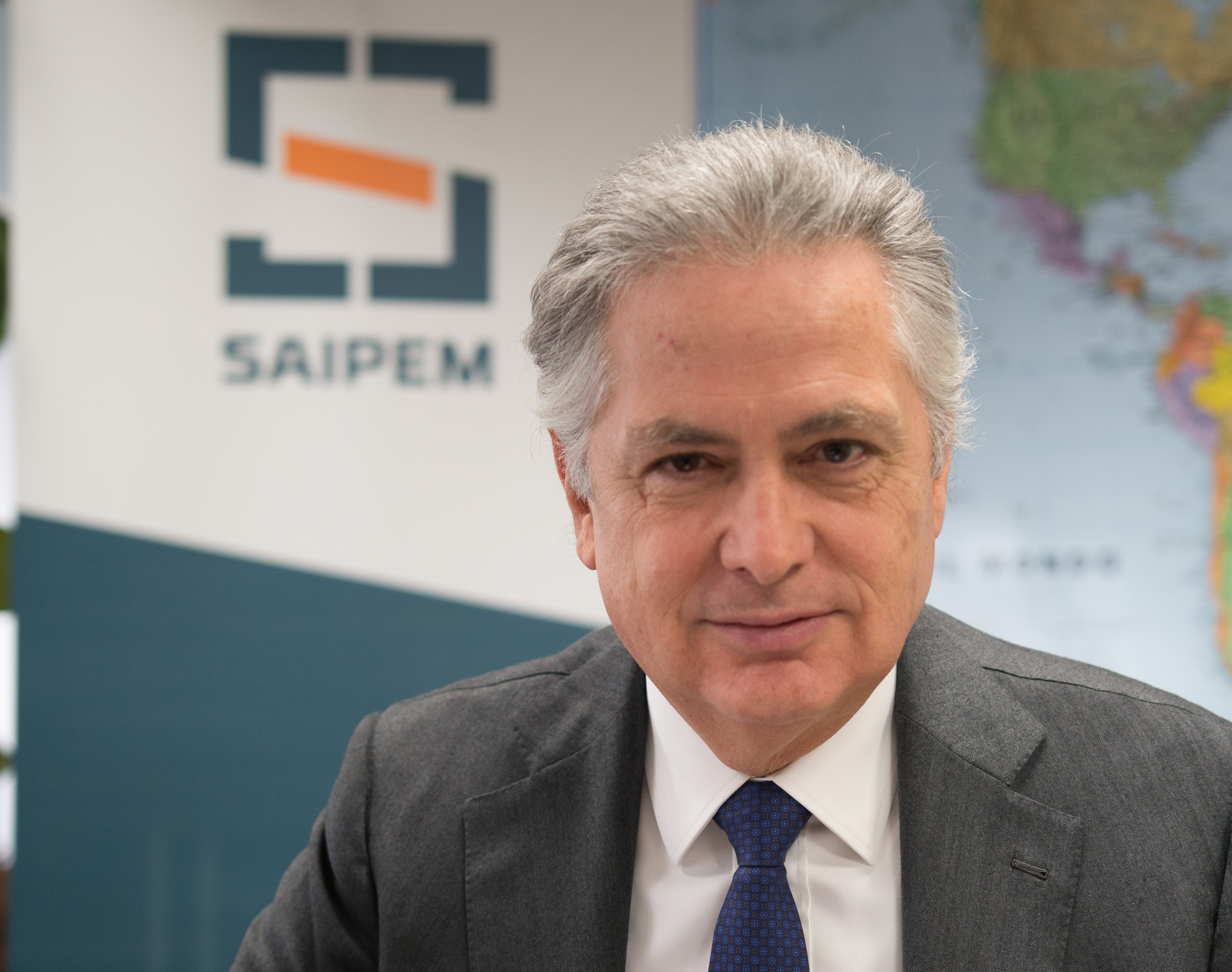 Saipem chief executive, Stefano Cao.