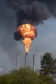 Courier News - Fife - Aileen Robertson - Mossmorran plant flaring failure - Cowdenbeath - Picture Shows: Thick black smoke pouring out of Mossmorran Petrochemical Plant near Cowdenbeath - Sunday 21st April 2019 - Steve Brown / DCT Media