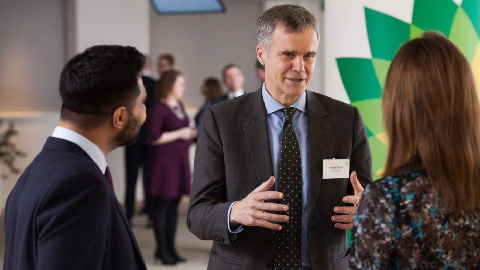 The AGM will take place at the AECC on May 21. Pictured is BP chairman Helge Lund