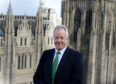 Chris Sim, managing director of investment banking at Investec, pictured at AJL, Aberdeen. Picture by Jim Irvine