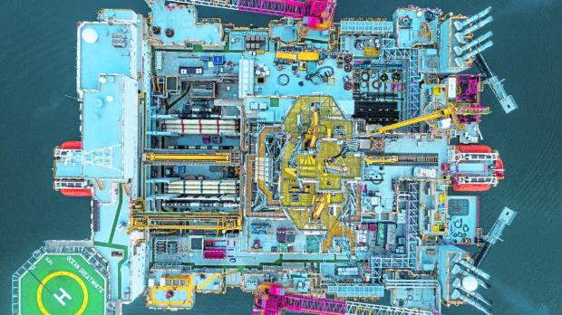 Diamond Offshore's Ocean GreatWhite semi-submersible rig