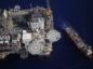 Chevron oil rig offshore