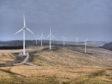 Afton windfarm in Ayrshire