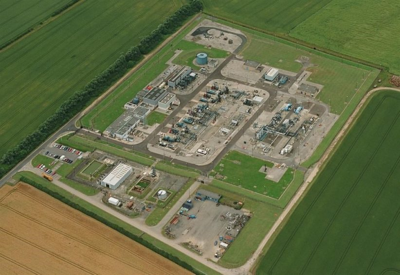 The Atwick gas storage facility