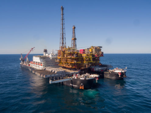 Shell's 24,000 tonne Brent Delta topside was lifted and transported for decommissioning in 2017.