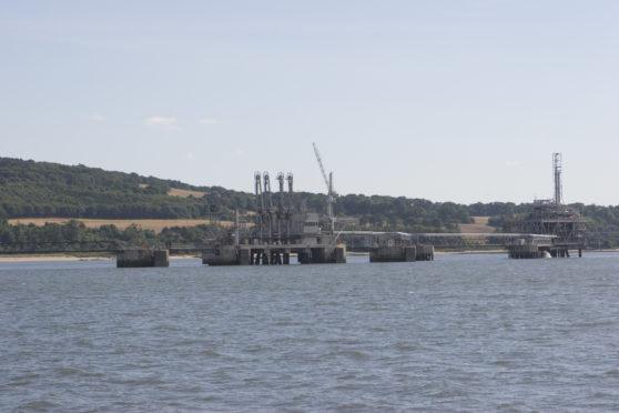 Braefoot Bay Oil Terminal