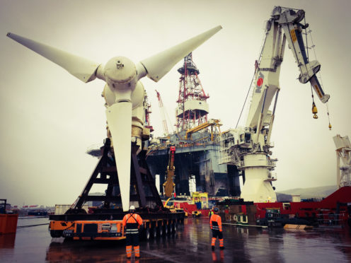 Simec Atlantis Energy's Meygen project.