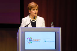 First Minister to launch next week's All-Energy & Dcarbonise Virtual Summit