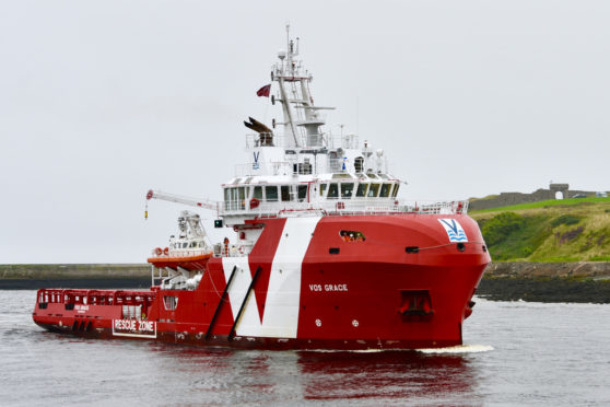Vroon Offshore's VOS Grace