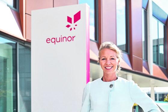 Hedda Felin, Equinor's senior VP for UK offshore,