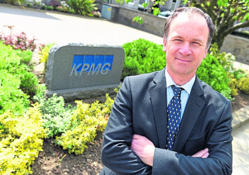Martin Findlay, Senior Partner for KPMG in Aberdeen.