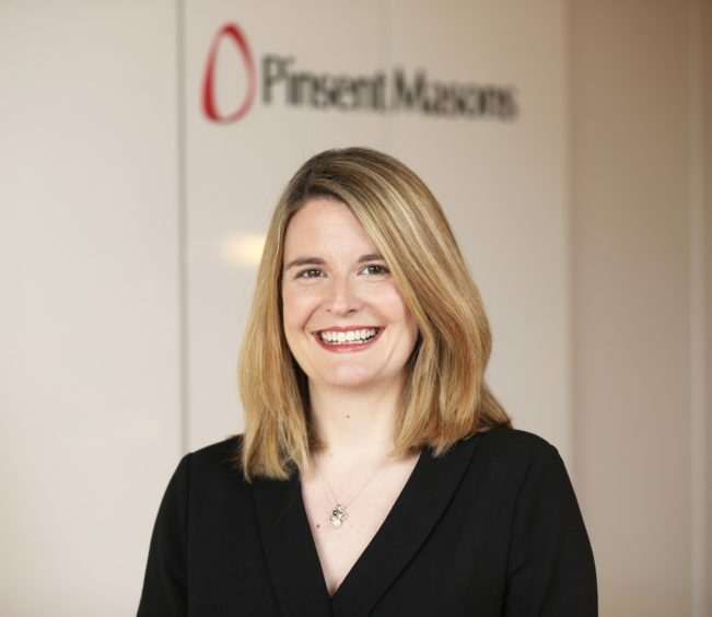 Claire Scott of legal firm Pinsent Masons