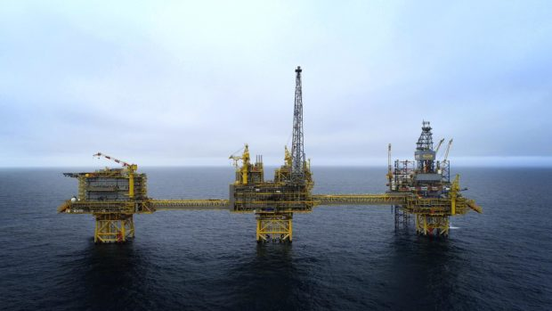 The Culzean gas project in the North Sea started production last month.
