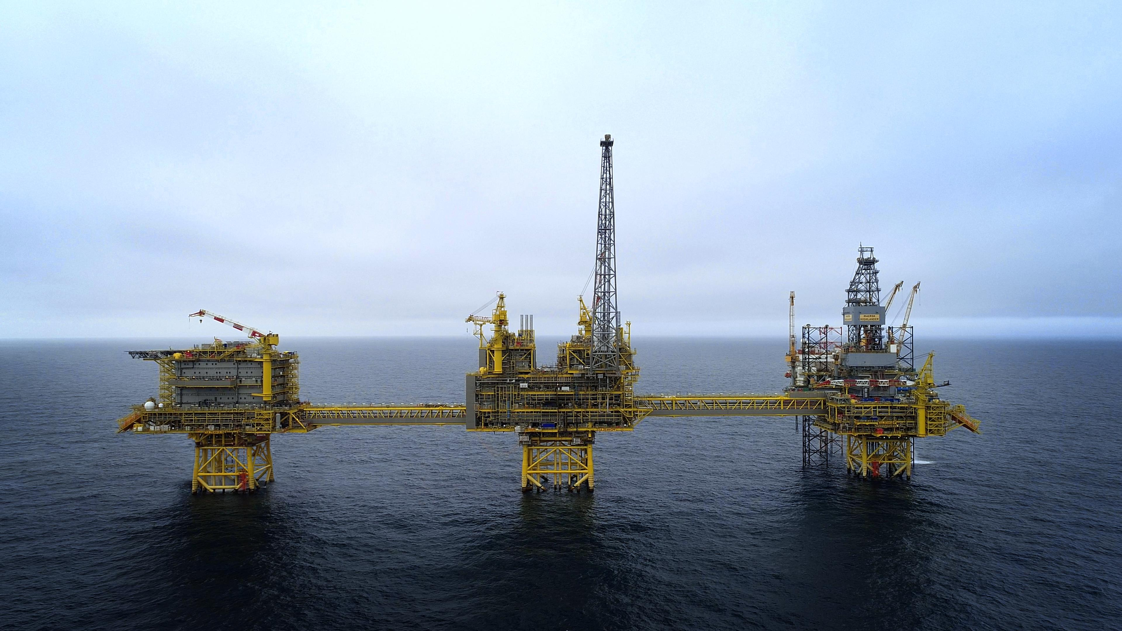 The Culzean gas project in the North Sea started production in 2019