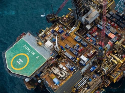 Decommissioning work began on the Greater Dunlin Area in 2015 and is due for completion in 2024. Pic: Decom Energy