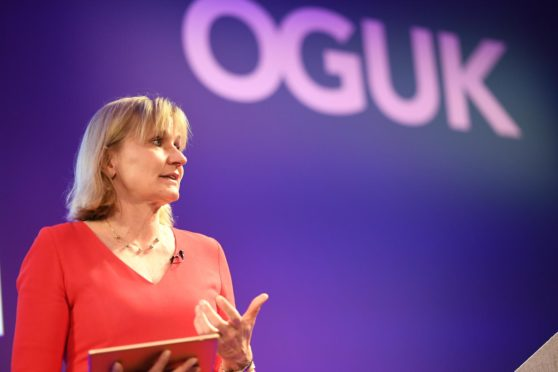 Oil and Gas UK chief executive, Deirdre Michie
