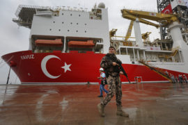 Greece seeks halt to EU-Turkey customs union after vessel carries out seismic survey in disputed waters