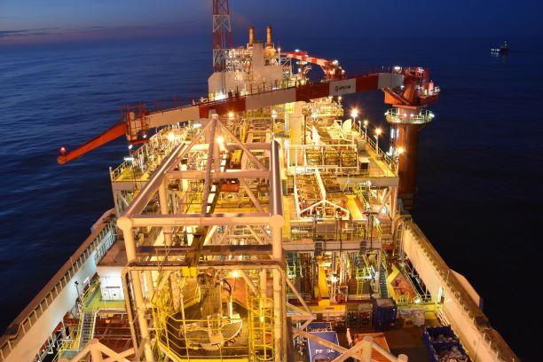 The Aoka Mizu production vessel