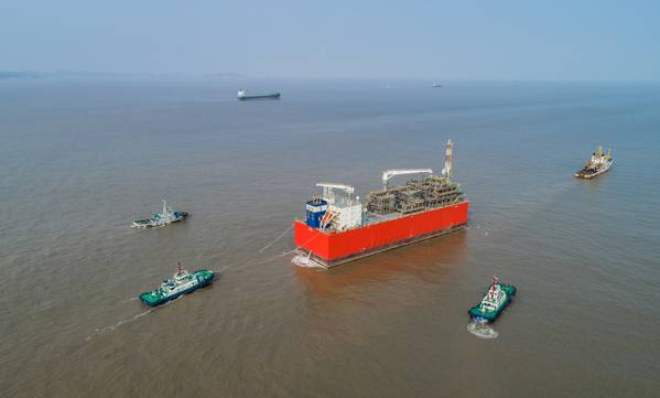 Exmar's Tango FLNG vessel.