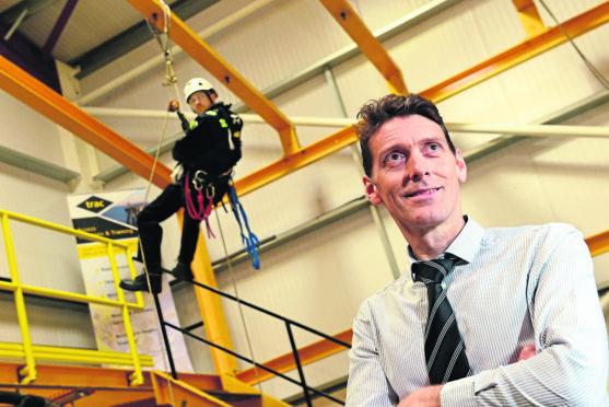 Daniel Hawthorn, managing director of Trac Oil and Gas