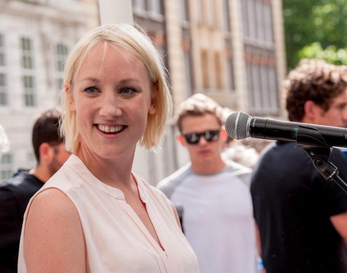 RenewableUK's Emma Pinchbeck ©Stonehouse Photographic/WWF-UK