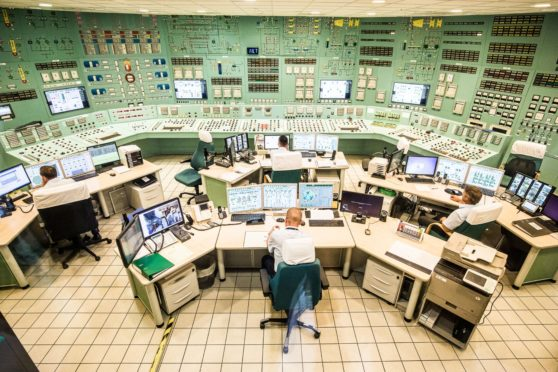 The  control room of the Paks nuclear power plant, operated by MVM Paksi Atomeromu Zrt, in Paks, Hungary, on Tuesday, June 25, 2019. Photo: Akos Stiller