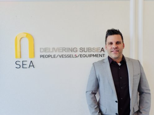 Asa Gamble, Managing Director for N-Sea in the Middle East