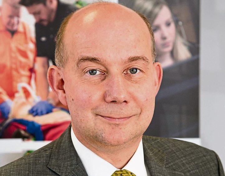 Dr Stuart Scott, medical director at Iqarus