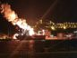 THe explosion took place on Monday night. PIC from Turkish newspaper Daily Sabah