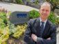 Martin Findlay, office senior partner, outside KPMG's old digs in Aberdeen.