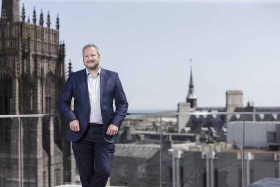 Simon Marshall has been appointed as the new exhibition director for Offshore Europe. Photo: Ross Johnston/Newsline Media