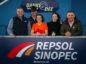 Bill Dunnett, CEO Repsol Sinopec;  Jock Hutchison, Horseback UK;  Paula Cormack, Maggie's;  Lesley Fletcher, The Forget-Me-Not Club; and Aberdeen's 'Gothenburg Great' John Hewitt.