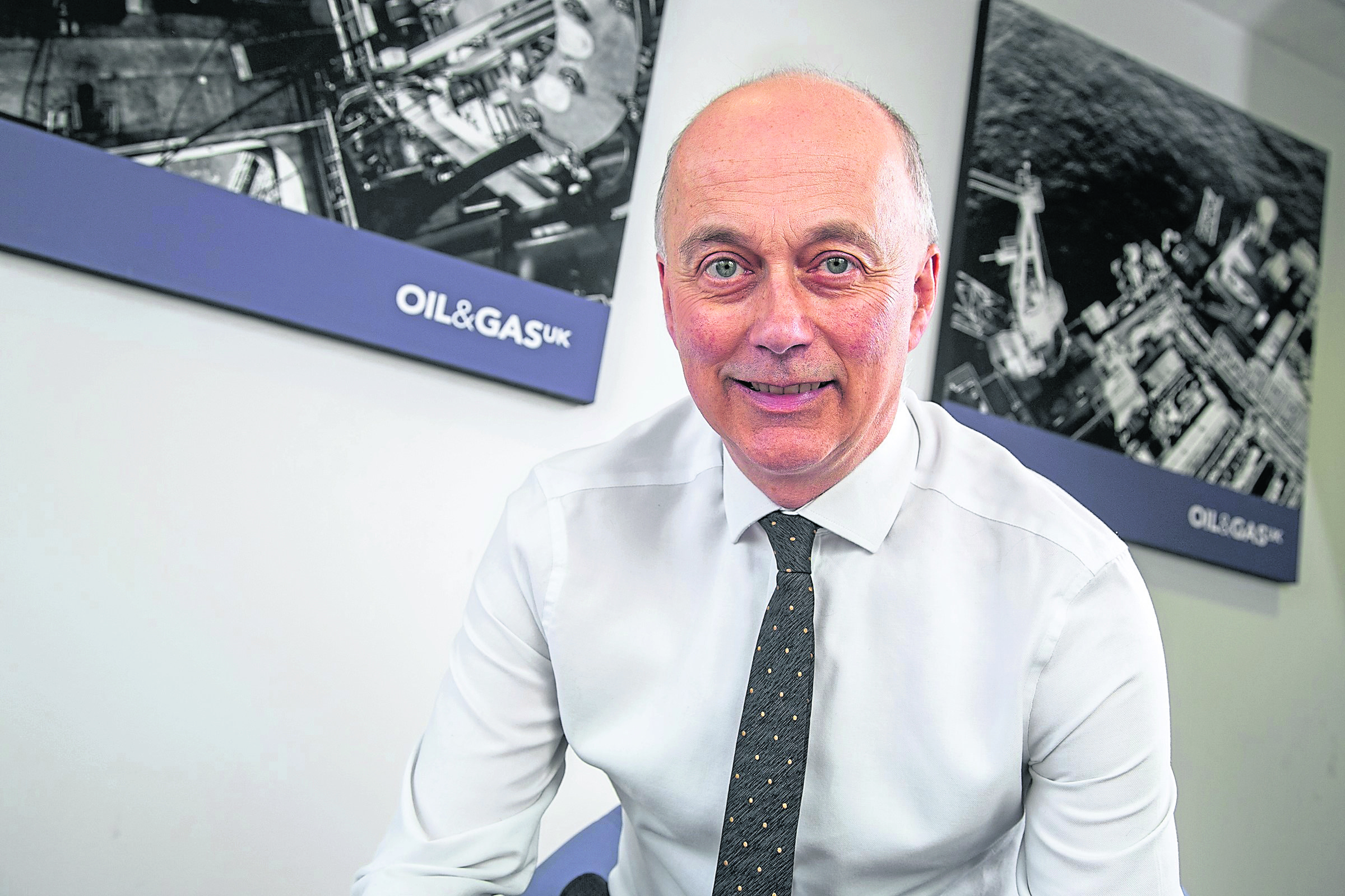 Oil and Gas UK health and safety manager Trevor Stapleton