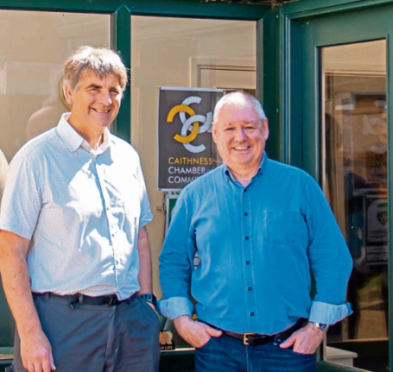 branching out: Andrew Bruce and Alan Gray have hailed the Thurso move