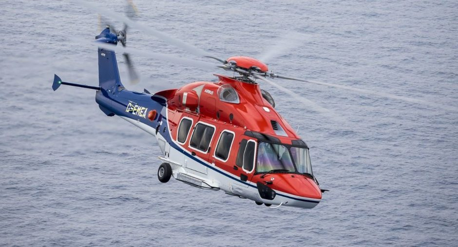 A CHC-operated helicopter.