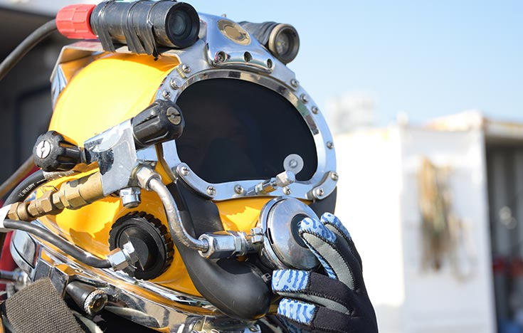 Around a thousand workers in North Sea diving crews are covered by the ODIA agreement. Pic: KD Marine