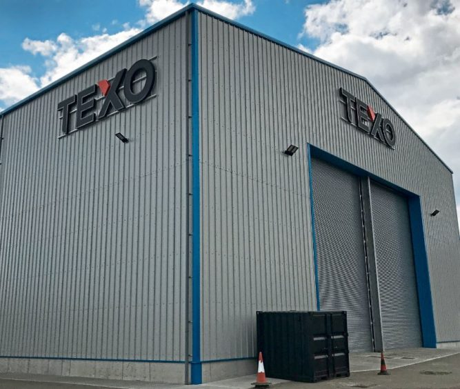 The new Texo dockside facility at Port of Blyth