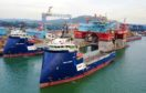 The Topaz Energy and Endurance vessels