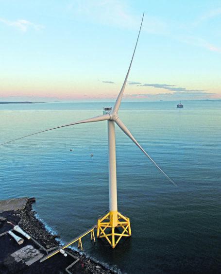 Levenmouth demonstration turbine. Handout Flicq UK. DCIM100MEDIADJI_0004.JPG