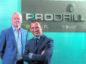 Left to right: Bob Watt with Prodrill client relationship director, Drew Alexander.